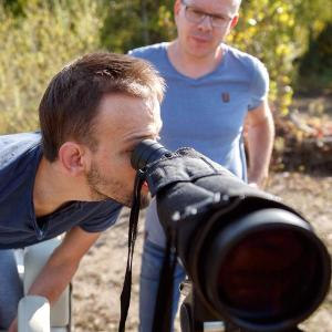 Birdwatching, Foto: Gottfried Stoppel
