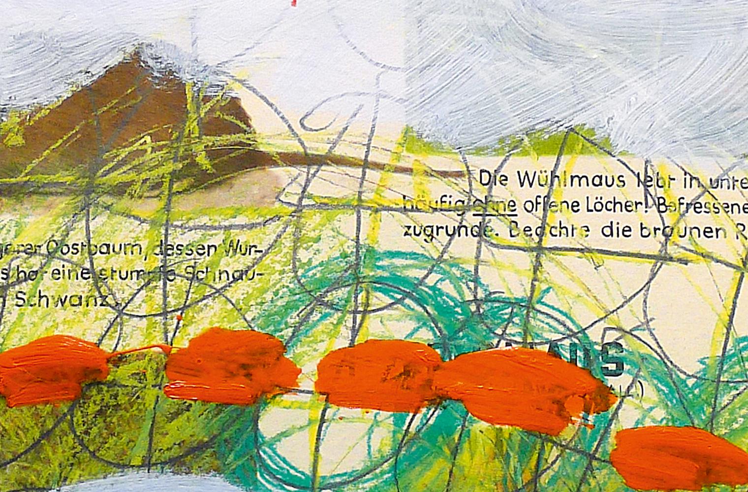 Gemälde zu Vulnerabilität aus der Galerie Tacheles in Gmunden