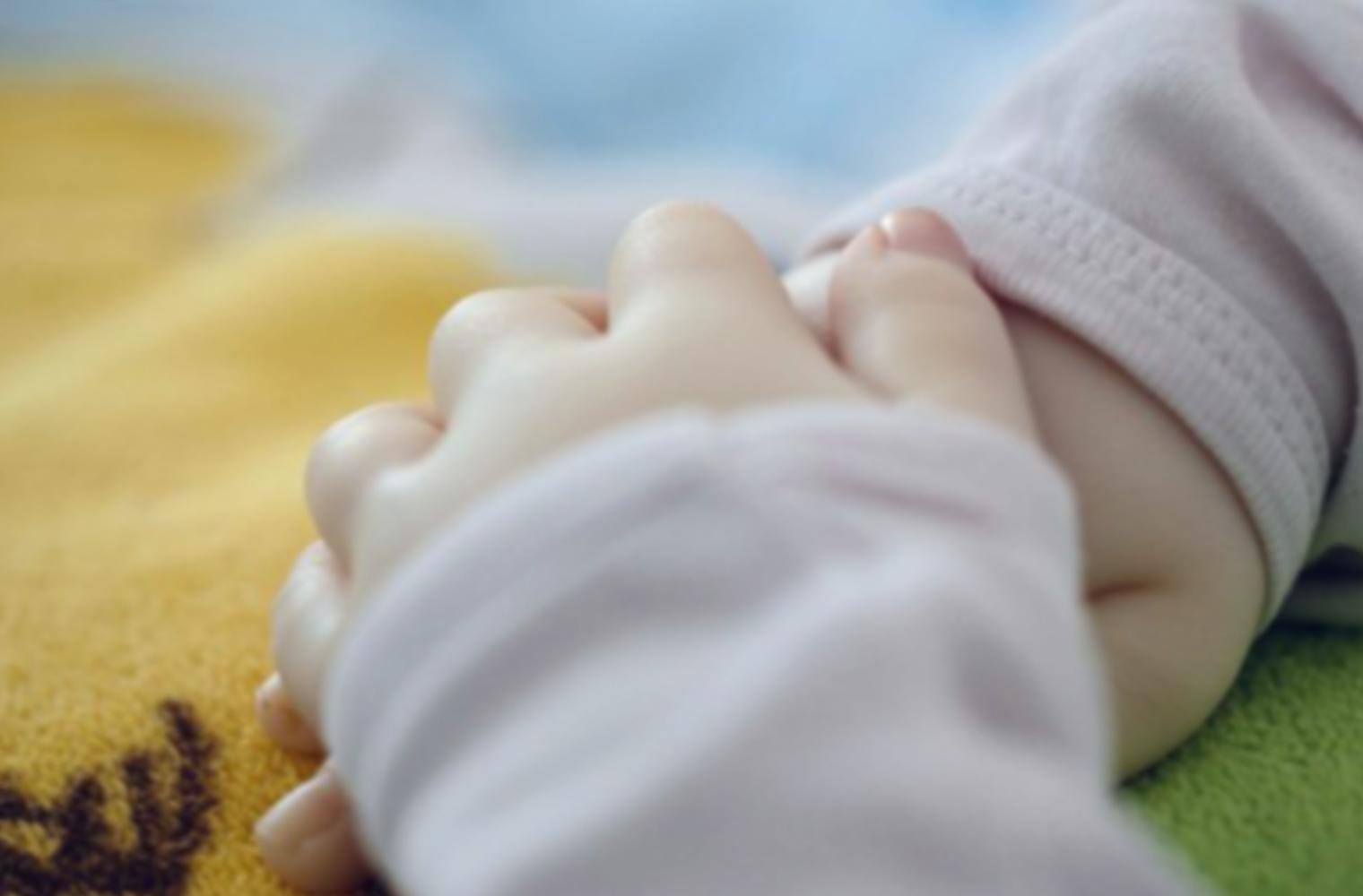 Zwei kleine Kinderhände in Nahaufnahme – Foto: privat / Blaich